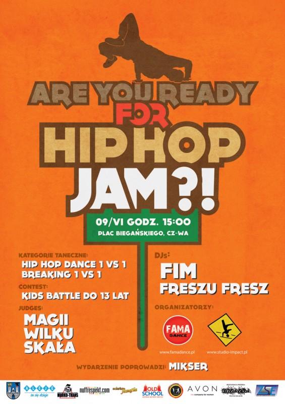 plakat hip-hop