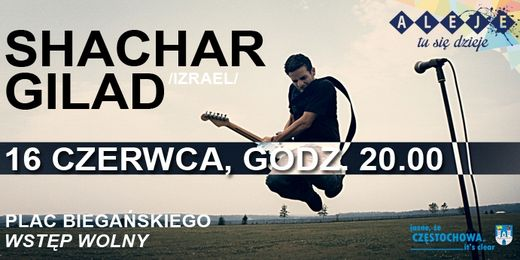 baner koncert Shachar Gilad