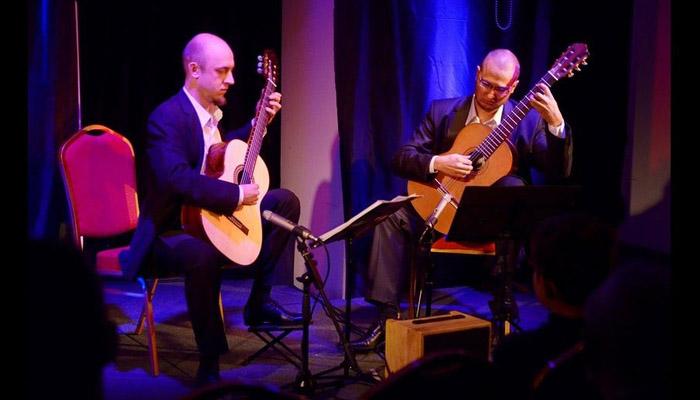 Podwieczorek zklasyką koncert duetu gitarowego MAREK ZYSKOWSKI, MATEUSZ MURAWSKI